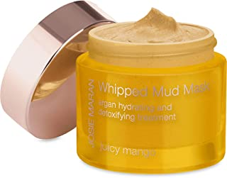 Josie Maran Whipped Mud Mask Argan - Detoxifying Treatment Rejuvenates and Tones Your Skin with Essential Nutrients (52g/1.7oz, Juicy Mango)