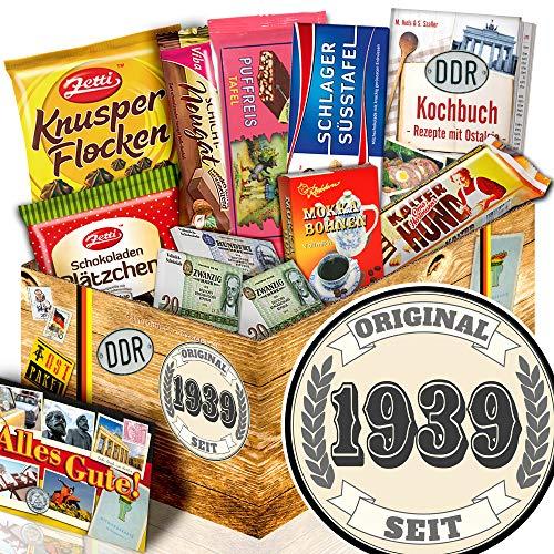 Original seit 1939 / Geburtstag Geschenkeset / Schokoladen Ossi Paket