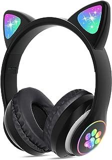 LOLO Audifonos Inalambricos Bluetooth 5.0, Diadema Audífonos con Microfono, Auriculares Bluetooth Estéreo con Cancelación de Ruido con Hi-Fi, Compatibles con Todos los Dispositivos Bluetooth (Negro)