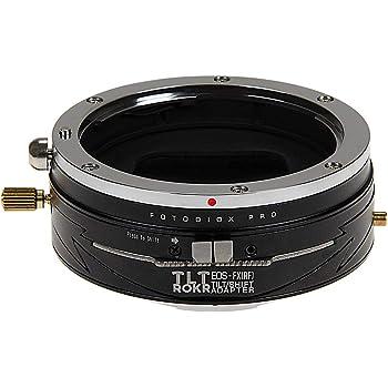 Fotodiox Pro TLT ROKR - Tilt/Shift Lens Mount Adapter for Canon EOS (EF) D/SLR Lenses to Fujifilm Fuji X-Serie Mirrorless Camera Body