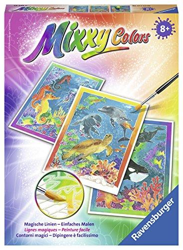 Ravensburger Mixxy Colors Malen 29349 - Bunte Unterwasserwelt