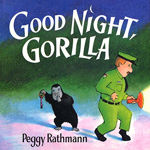 Good Night, Gorilla audiobook cover art