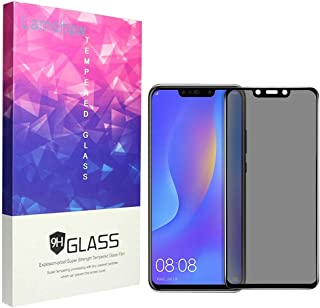 for Huawei Nova 3i Privacy Screen Protector, Lamshaw Anti Spy Anti Peep Full Covergae Privacy Tempered Glass Screen Protector for Huawei Nova 3i (Black)