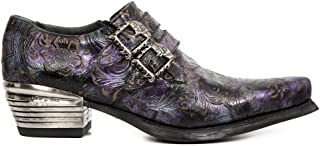 New Rock M.7960 S9 Lilas - Bottes, Hommes
