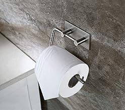 WHLONG TOGU Toiletrolhouder Zelfklevend - Geen boren Roestvrije & Waterdichte Stok op Badkamer Keuken voor Handdoek Weefse...