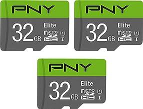 PNY 32GB Elite Class 10 U1 MicroSDHC Flash Memory Card...