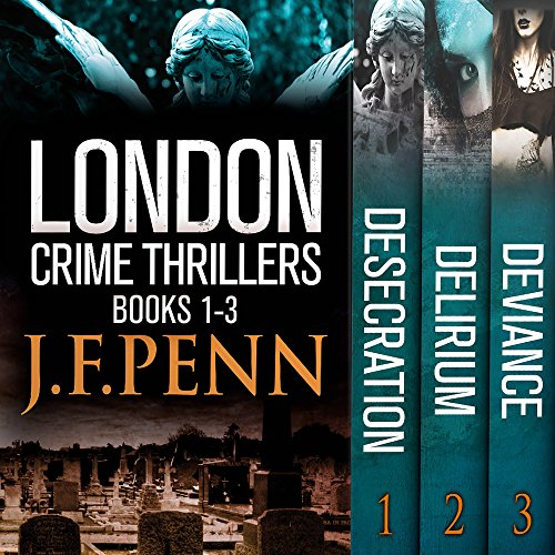 London Crime Thriller Boxset audiobook cover art