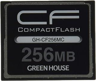 グリーンハウス 70倍速(10MB/s)スタンダードコンパクトフラッシュ 256MB GH-CF256MC