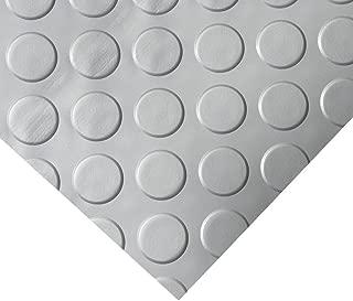 metallic floor covering