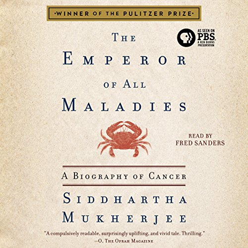 The Emperor of All Maladies audiobook cover art