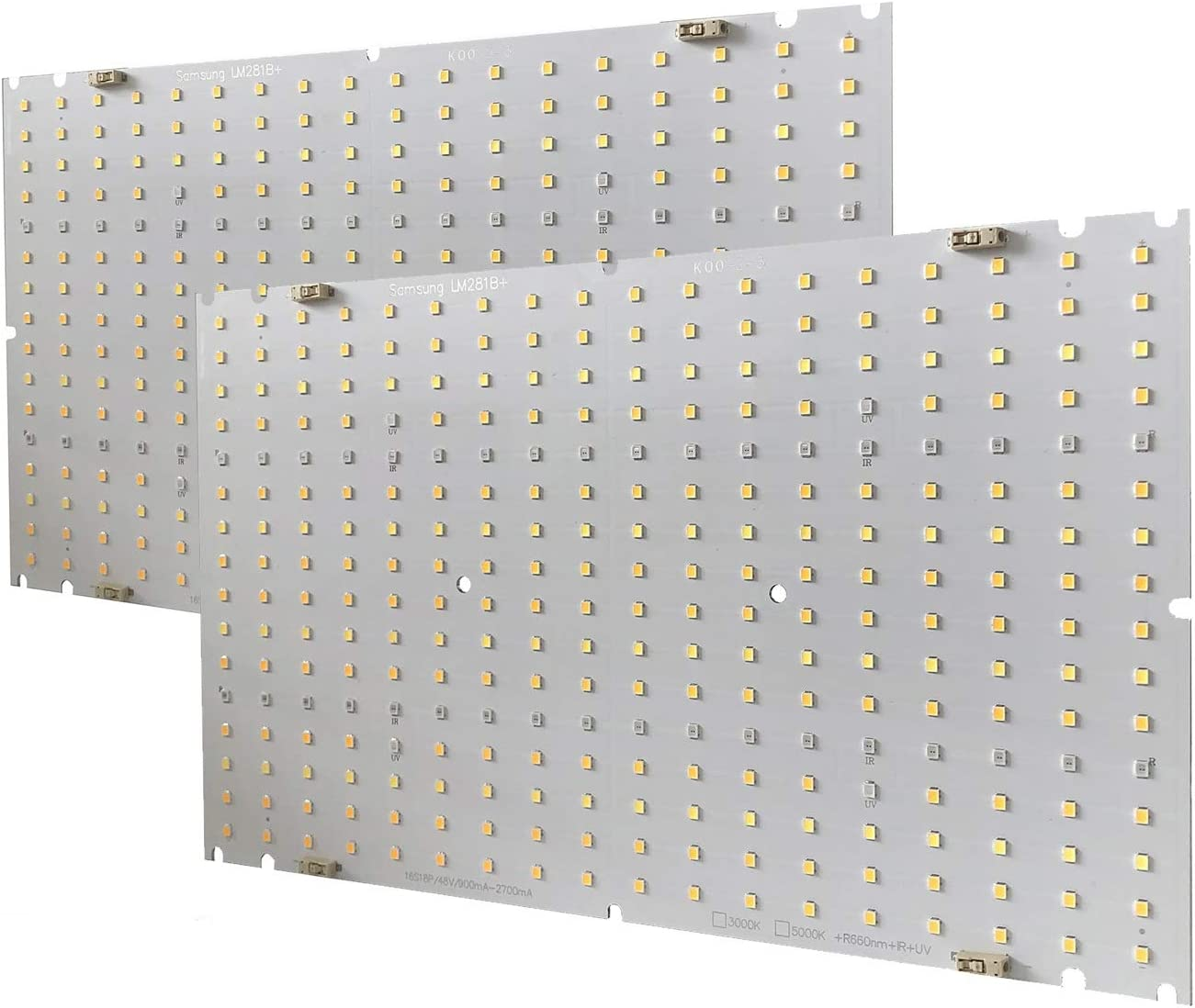KQO 120W Super sale period limited LED Detroit Mall Grow Light PCB 50 Boards Samsung LM281B+ 3000K with