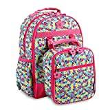J World New York Kids' Backpack with Lunch Bag Set, Floret, One Size