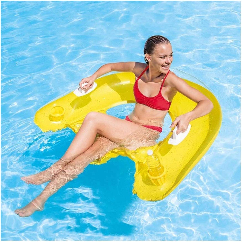 LYQZ Schwimmring Erwachsene Jungen und Mdchen Rettungsring Anfnger groe aufblasbare Unterarm Schwimmkrper Schwimmen (Farbe   Gelb)
