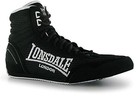 Lonsdale Kinder Jungen Contender Boxing Stiefel Schuhe Schnuerschuhe Extra Leicht B00T81JQ20     | Qualifizierte Herstellung
