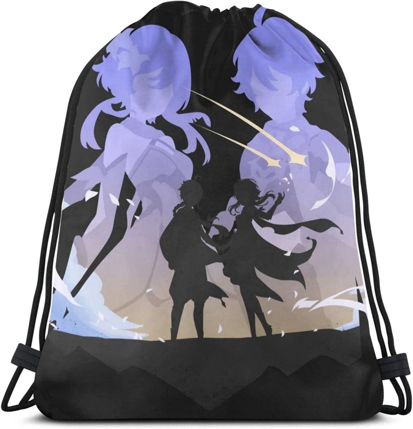 Product Travelers Genshin Impact Drawstring Outlet ☆ Free Shipping Bag Sports Backpa