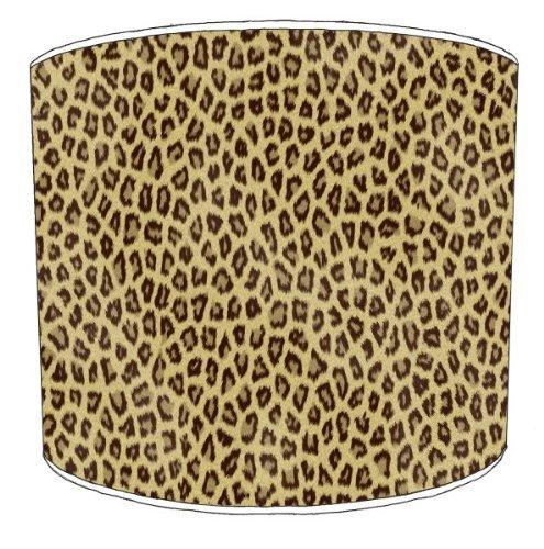 Premier Lampshades - 12 Inch Table Cheetah Animal Print Shade1