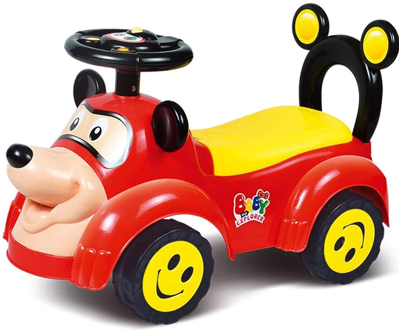 directo de fábrica Cochero de bebe Coche Giratorio para Niños con con con Coche de bebé de Cuatro Ruedas con música yo Coche bebé (Color   E)  tienda en linea