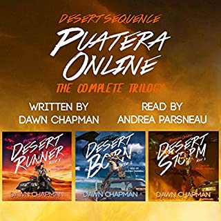 Puatera Online Box Set - Books 1 through 3 - Desert Runner, Desert Born, and Desert Storm audiobook cover art
