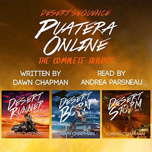 Puatera Online Box Set - Books 1 through 3 - Desert Runner, Desert Born, and Desert Storm cover art