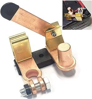 Qiorange Auto KFZ LKW PKW 12V/24V negativer Pol Batterietrennschalter Hauptstromschalter Batterieadapter für 15 17mm (Type F 1 Stück)