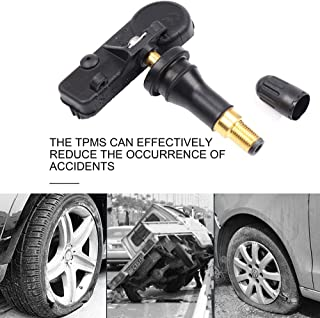 Programmed Tire Pressure Monitoring Sensor Fits for 2005-2016 Chrysler Pacifica Town and Country 2005-2016 Dodge Caravan Challenge Ram 2012-2016 Fiat 500 2005-2017 Jeep Liberty Wrangler