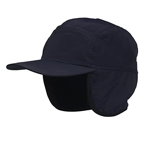 Winter Baseball Cap Earflap Fleece Inside Cap Waterproof Outdoor Cap Adult 6f6d0fd33f4