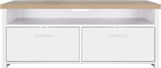 VASAGLE Mueble para TV con Compartimentos y Puertas, Mesa
