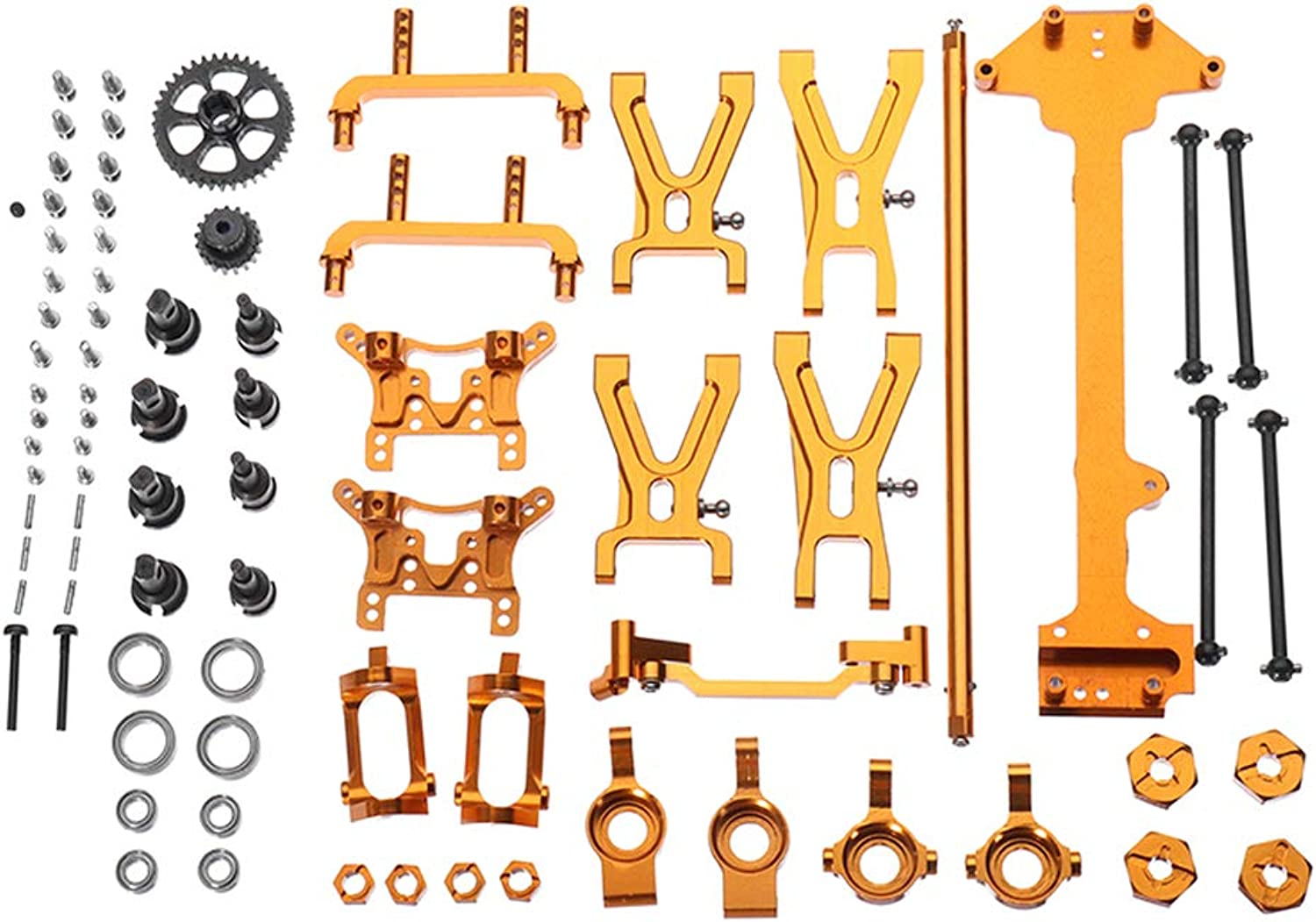 HobbyAnt Upgraded Metal Parts Kit for WLtoys 1 18 A949 A959 A969 A979 K929 RC Car