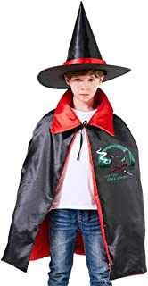 Cowboy Bebop See You Space Cowboy Unisex Kids Hooded Cloak Cape Halloween Party Decoration Role Cosplay Costumes Outwear Red