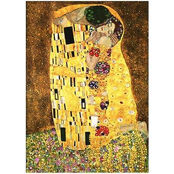 Pintar por numeros Adultos Beso Klimt DIY Pintura Kit Facil para ...