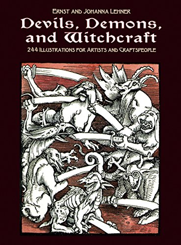 Devils, Demons, and Witchcraft: 244 Illustrations for Artists (Dover Pictorial Archive) (English Edition)