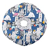 Smandy Collar de protección para Mascotas, Círculo de Borde Suave para Mascotas Collar de protección contra mordidas Collar de Seguridad Collar para Perros de Gato Cachorros de Mascotas(Azul)