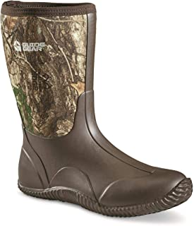 Guide Gear Men's Mid Camo Bogger Rubber Boots