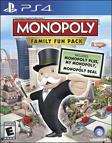 Price comparison product image Monopoly Family Fun Pack - PlayStation 4 Standard Edition