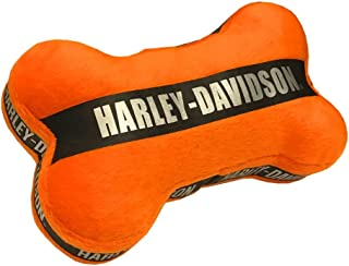 Harley-Davidson Plush and Canvas Bone Dog Toy with Motor Sound   7-Inches