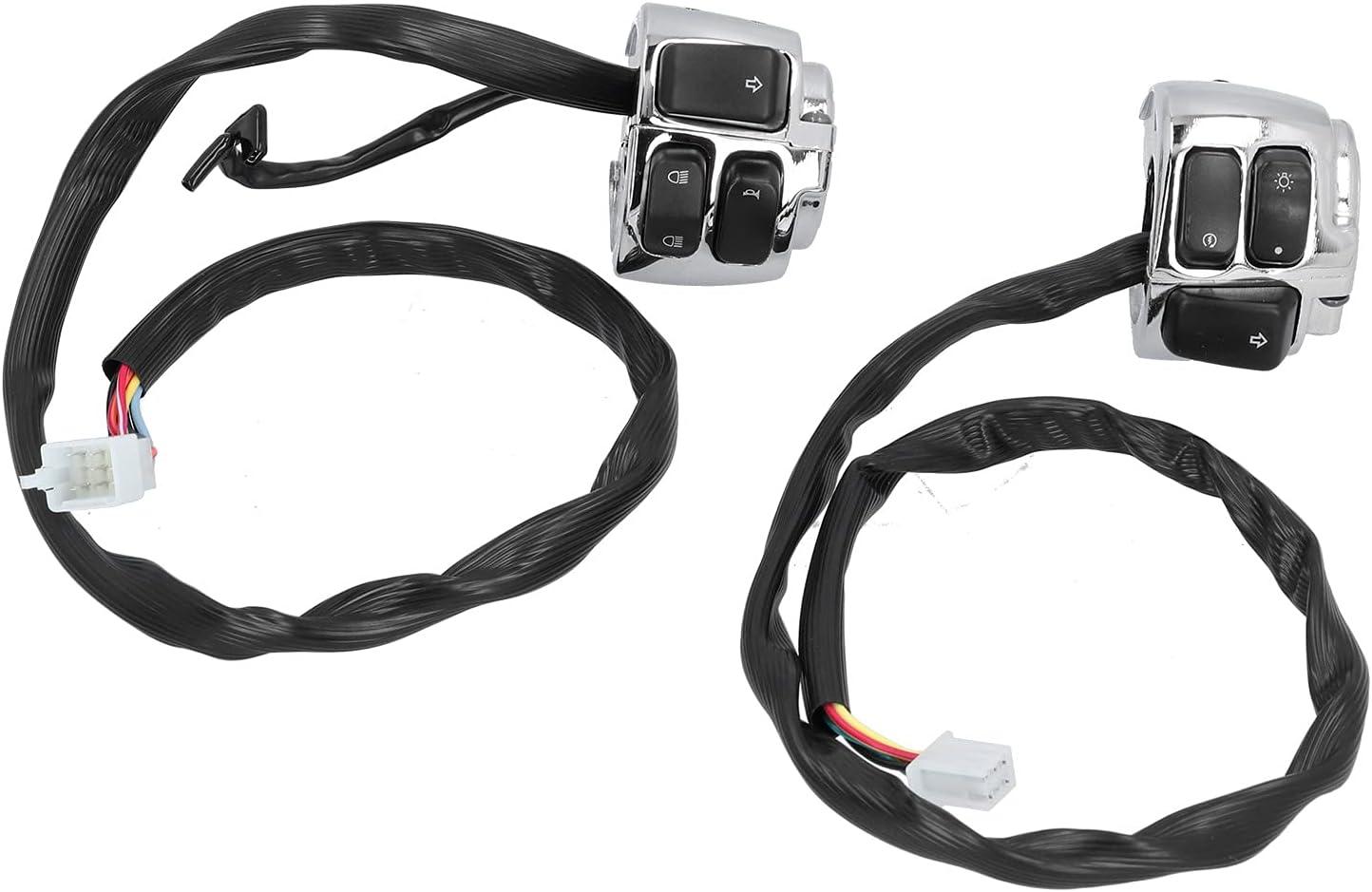 Houston Mall 2 Pcs Motorcycle Headlight Switch Universal Max 57% OFF Waterproof 25mm 1in