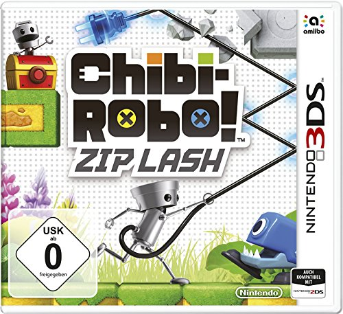 Chibi-Robo! Zip Lash - [3DS]