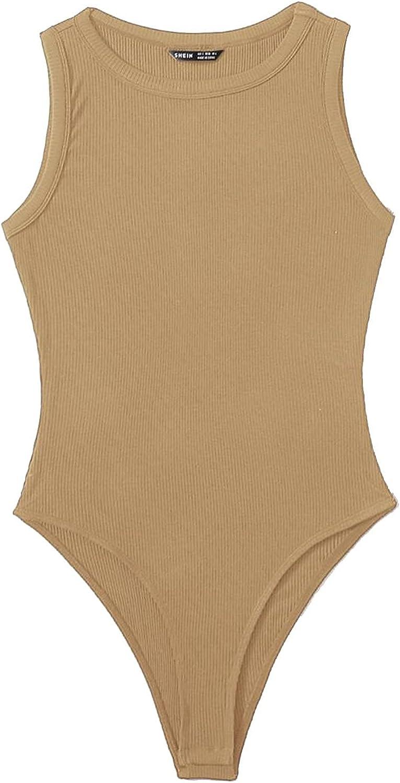 Vain Rib-knit Bodysuit, Women Bodysuits