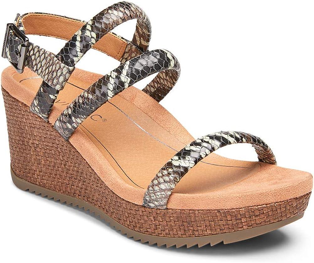 Vionic Ranking TOP10 Women's Hoola Kora Wedge Limited price Sandals Espadrille - Adjustable