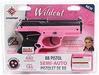 Crosman P10PNK Wildcat CO2 Pistol BB