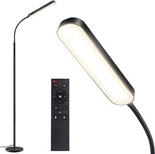 Outon Lampadaire LED 15W 1500LM, Lampe sur Pied Moderne Réglable avec 4 Température de Couleur, Télécommande et Contrôle T...