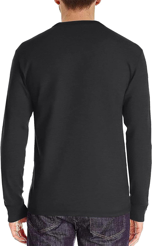 T Shirt for Men Oklahoma City Mall Henley Autumn Classic Pullover Portland Mall Casua Long-Sleeve