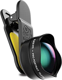 Phone Lenses by Black Eye    Pro Portrait Tele Photo G4 Phone Camera Lens Compatible with iPhone, iPad, Samsung Galaxy, and All Camera Phone Models
