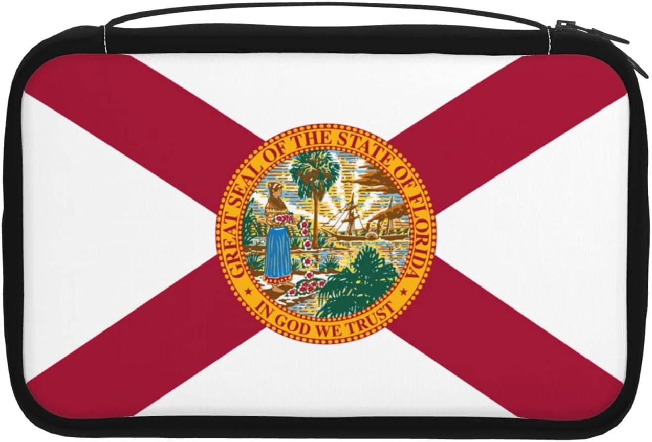 Florida Honorable Flag Hanging Travel Large Arlington Mall Bag Sales for sale Toiletry Capaci