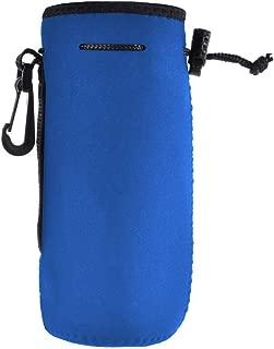 Water Bottle Sleeve Neoprene Bottle Carrier Nylon Bottle Sleeve for 20 oz/550 ml Glass Water Bottle Great for Stainless Steel and Plastic Bottles, Sport and Energy Drinks