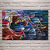 UHvEZ Rompecabezas de Madera 1000pcs Color de Velocidad de Carrera de Bicicleta Deportiva Rompecabezas de Madera, Rompecabezas para Adultos, Juguetes educativos para niños 50x75cm