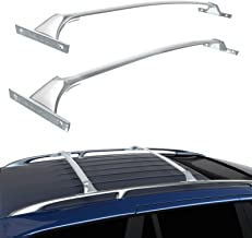 JUEDIMA Silver Roof Rack Cross Bars Replacement for Rogue 14-2019 2017 Rooftop Luggage Crossbars