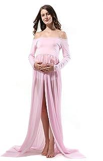 60241b341 Props della foto delle donne incinte sexy, Abito di maternità sparato veste  da spettacolo di
