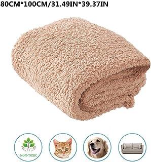 Mona43Henry Premium Fluffy Fleece Dog Blanket, Manta Suave y cálida para Mascotas para Perros Gatos Manta de algodón Velvet Tone para Aire Acondicionado Mat para Mascotas