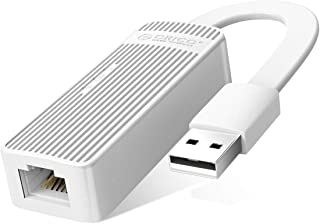 ORICO Ethernet Adapter, USB 2.0 to Network RJ45 LAN 100 Mbps Wired Adapter Converter Compatible for Windows XP, Vista,7/8/...